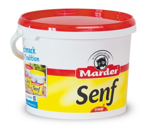 Marder Senf scharf 5kg Eimer