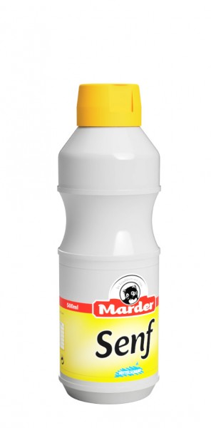Marder Senf 0,5 Liter mittelscharf