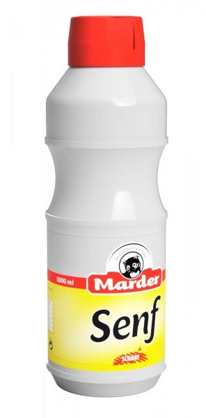 Marder Senf Flasche 1Liter scharf